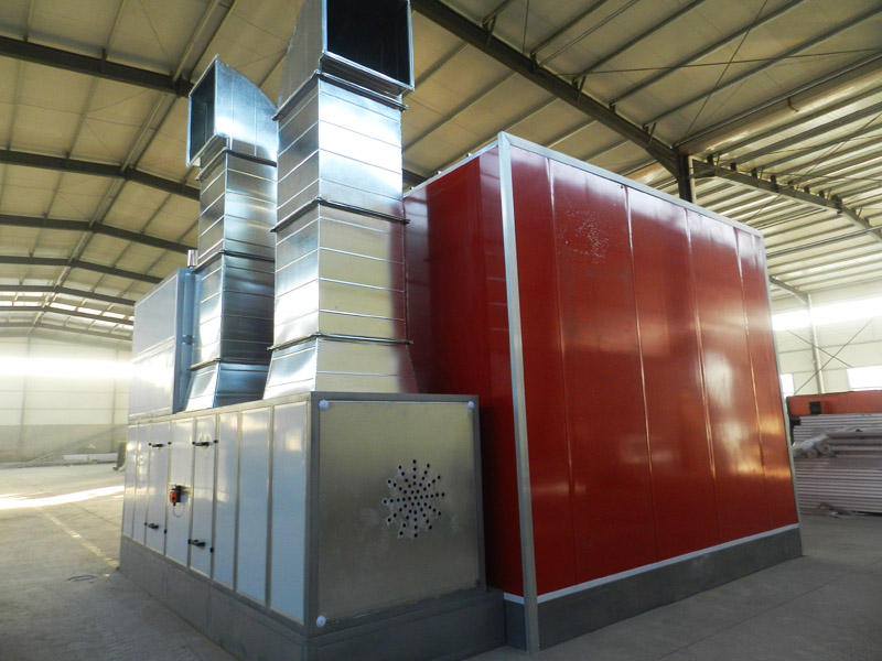 Car spray booth LY-8600 detail pictures