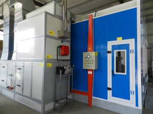 Car spray booth LY-8700
