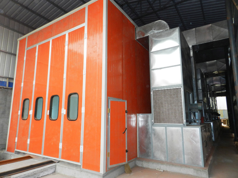 Truck spray booth LY-18-50 detail pictures
