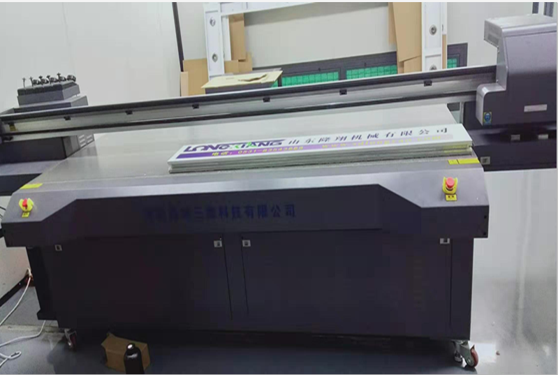 With our own printing machine , Any logo can be shown on our paint booth