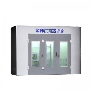 Super Lowest Price Cosmetics Display Booths - Automotive Spray Booth LX7 – Longxiang Machinery