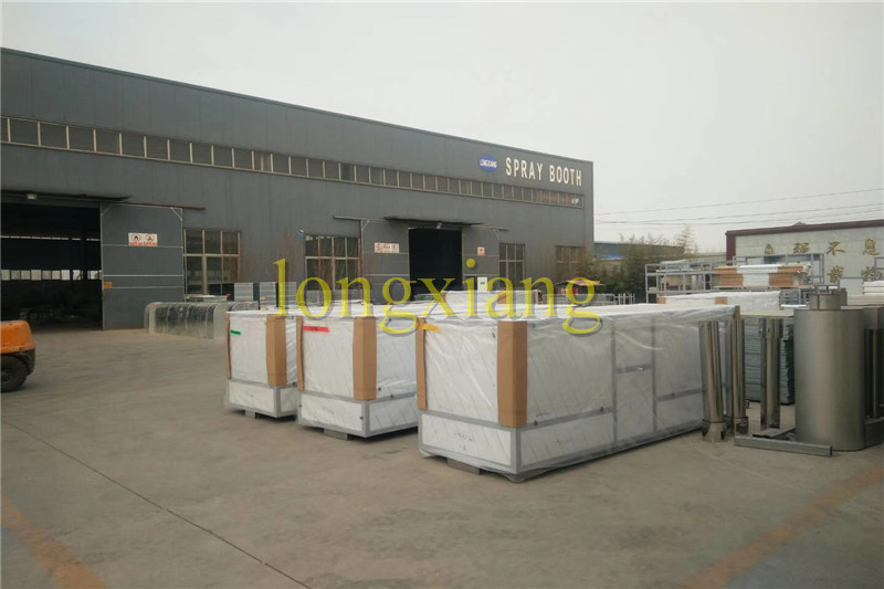 Spray booth loading photos share with you .